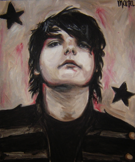 Gerard Way par Encore